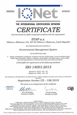 IQNET ISO 14001:2015